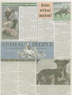 Animal People Newspaper